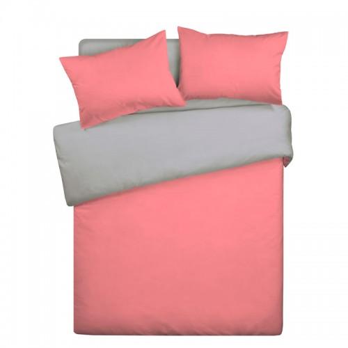Постельное белье «Wenge» Розово-серый