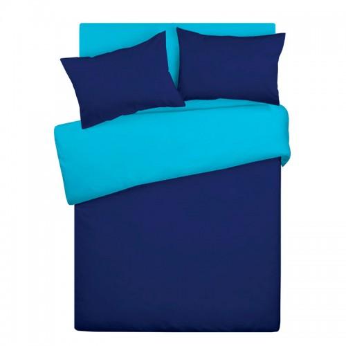 Постельное белье «Wenge» Сине-васильковый