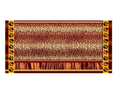 Полотенце махровое С-106 2224 Леопард