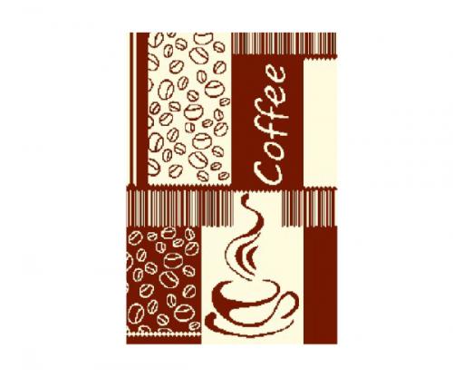 Полотенце махровое С-79 3526 Кофе