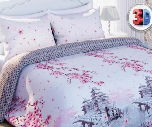 Постельное белье. «Любимый Дом 3D» Цветы сакуры