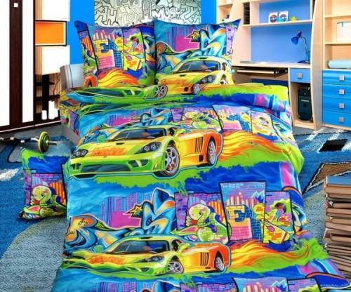 Детское  постельное белье «Бамбино» Граффити