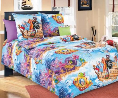Детское постельное белье «Бамбино» Пираты