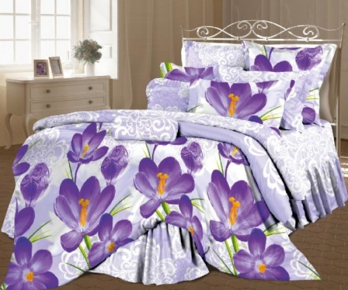 Комплект постельного белья «Цветы шафрана»