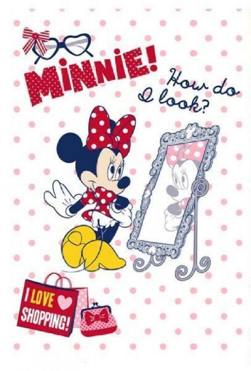 """Плед  """"Мини Маус"""" mirror"""